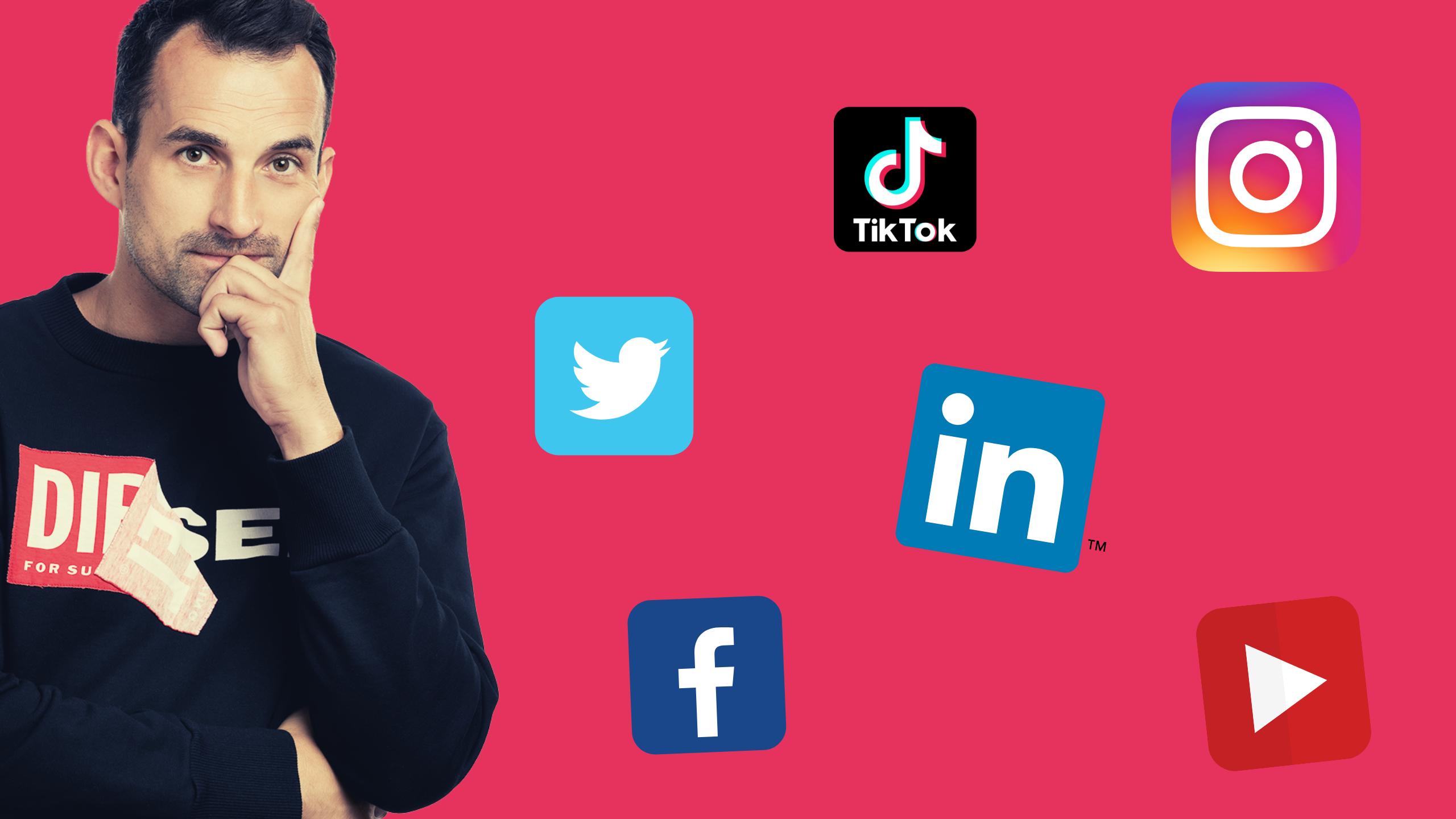 Je správné tvořit apublikovat veškerý obsah jen nasociálních sítích?